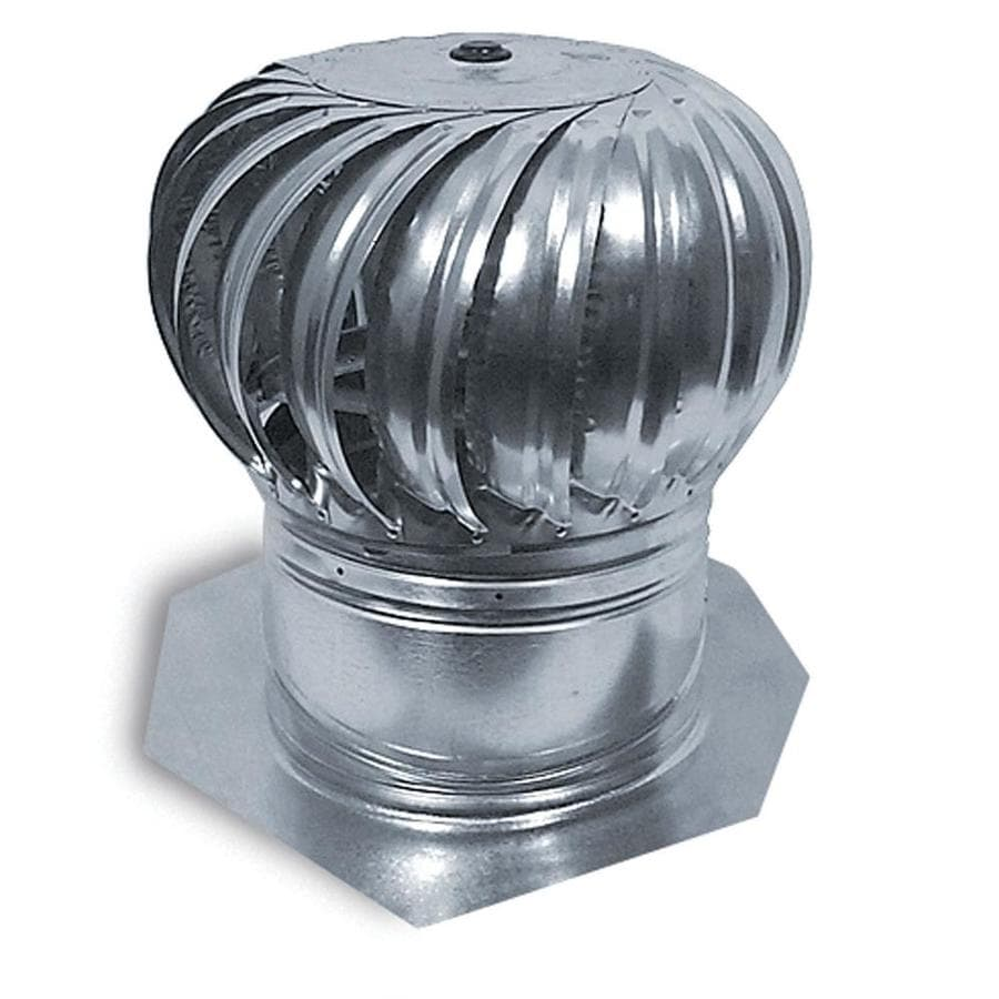 Master Flow Mill 12-in Galvanized Steel Internally Braced Roof Turbine Vent