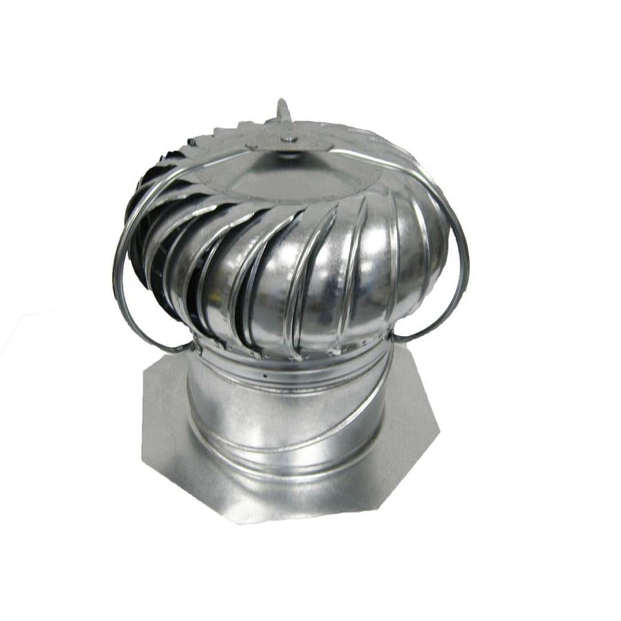 Master Flow Mill 12-in Galvanized Steel Externally Braced Roof Turbine Vent