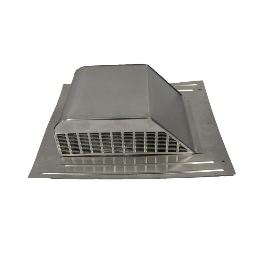 Master Flow 60 NFA Mill Aluminum Slant-Back Roof Louver