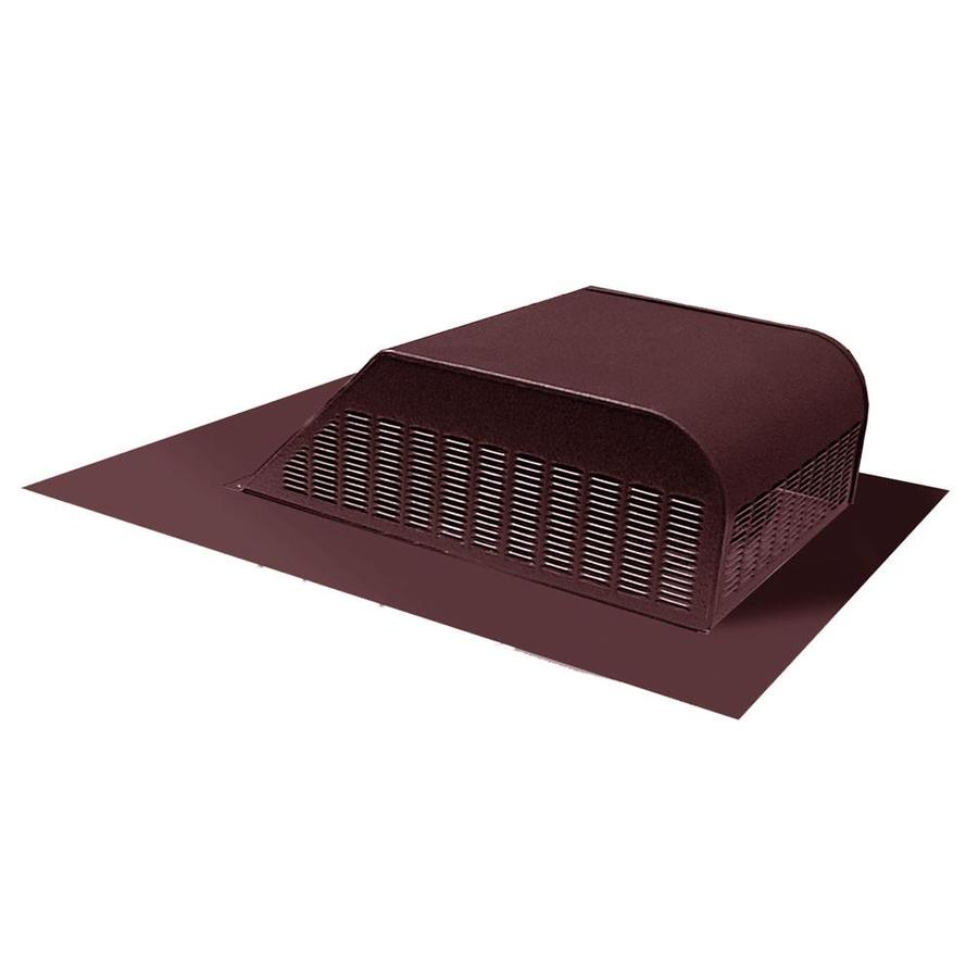Master Flow 60 NFA Brown Aluminum Slant Back Roof Louver