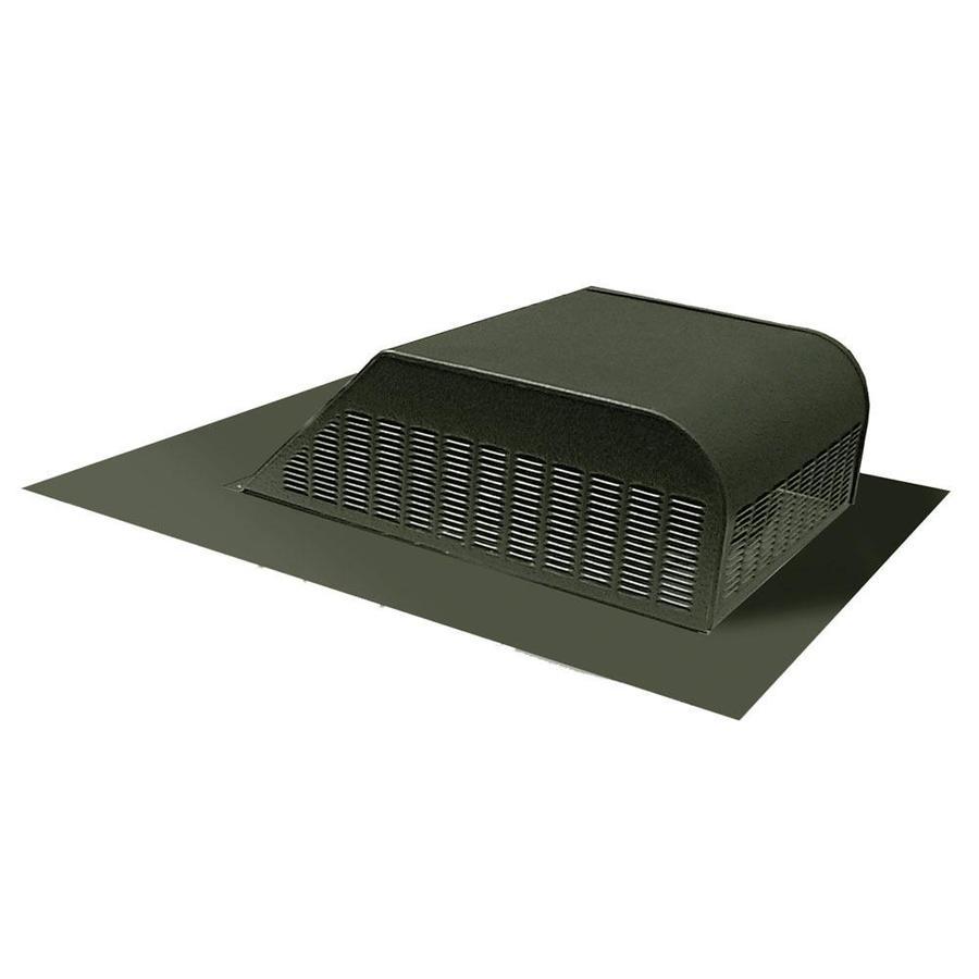 Master Flow 60 NFA Weatherwood Aluminum Slant-Back Roof Louver
