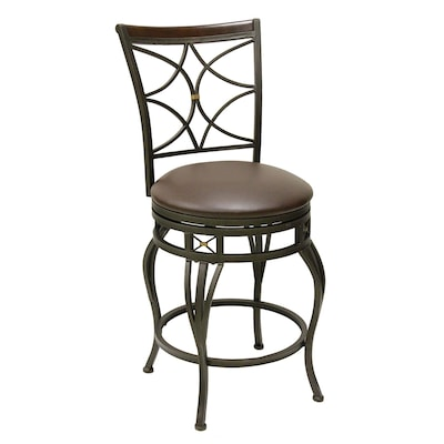 Brilliant Oil Rubbed Bronze 25 In Counter Stool At Lowes Com Alphanode Cool Chair Designs And Ideas Alphanodeonline