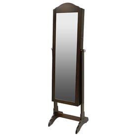 'Chocolate Cheval Mirror Jewelry Armoire' from the web at 'https://mobileimages.lowes.com/product/converted/050276/050276993353lg.jpg'