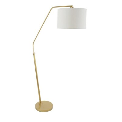 best service d0789 f49d0 Cheyenne Products 68.25-in Gold Arc Floor Lamp at Lowes.com