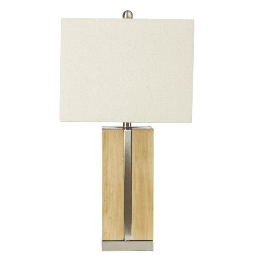 Cheyenne Products 26 75 In Brushed Steel And Light Oak