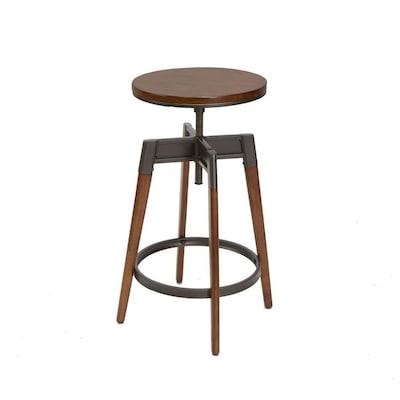 Sensational Chestnut Adjustable Stool At Lowes Com Beatyapartments Chair Design Images Beatyapartmentscom