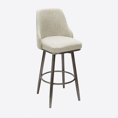 Cool Gunmetal Adjustable Stool At Lowes Com Andrewgaddart Wooden Chair Designs For Living Room Andrewgaddartcom