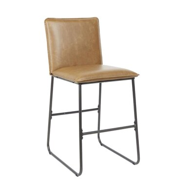 Super Cheyenne Products Cognac Counter Stool At Lowes Com Pdpeps Interior Chair Design Pdpepsorg
