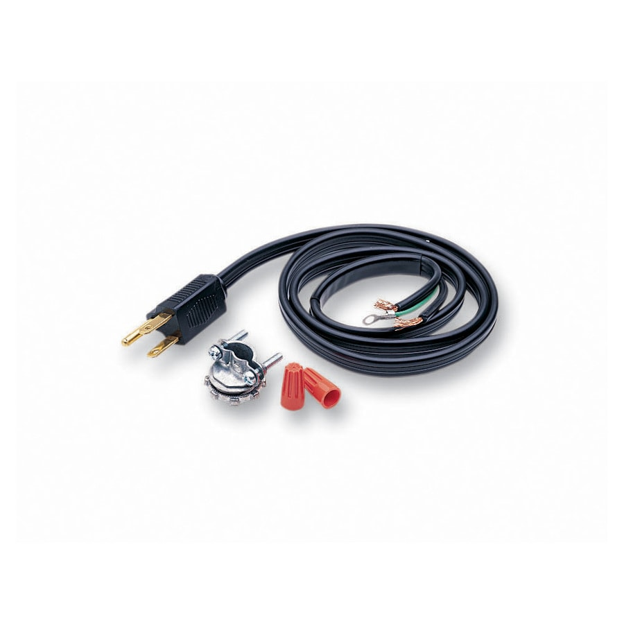Shop Appliance Power Cords At Dryer Outlet Wiring On 3 Wire Diagram Electric Insinkerator Ft Black Garbage Disposal Cord