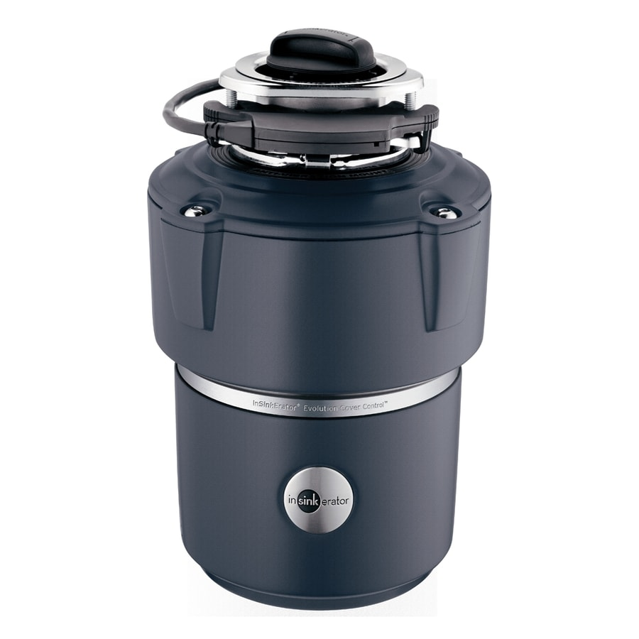 InSinkErator Evolution Cover Control 3/4-HP Garbage Disposal with Sound Insulation
