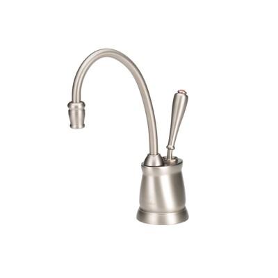 Indulge Satin Nickel Hot Water Dispenser With Hi Arc Spout
