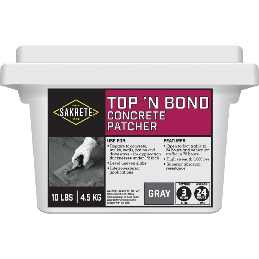 Sakrete Top N Bond 10-lbs Vinyl Concrete Patch