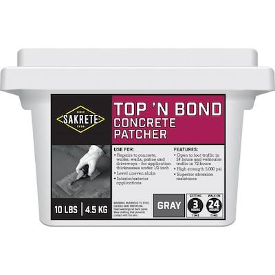 Sakrete Top N Bond 10-lbs Vinyl Concrete Patch at Lowes com