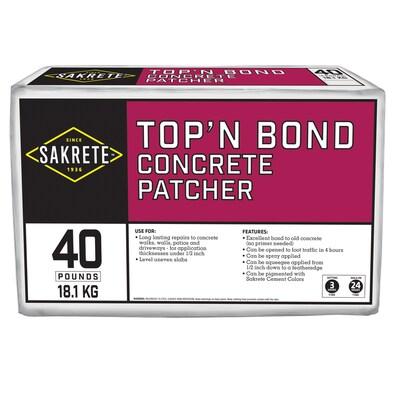 Sakrete Top N Bond 40-lbs Vinyl Concrete Patch at Lowes com