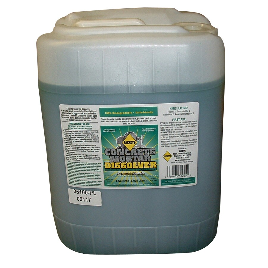 Shop sakrete oz masonry cleaner for concrete at for Best rated concrete cleaner