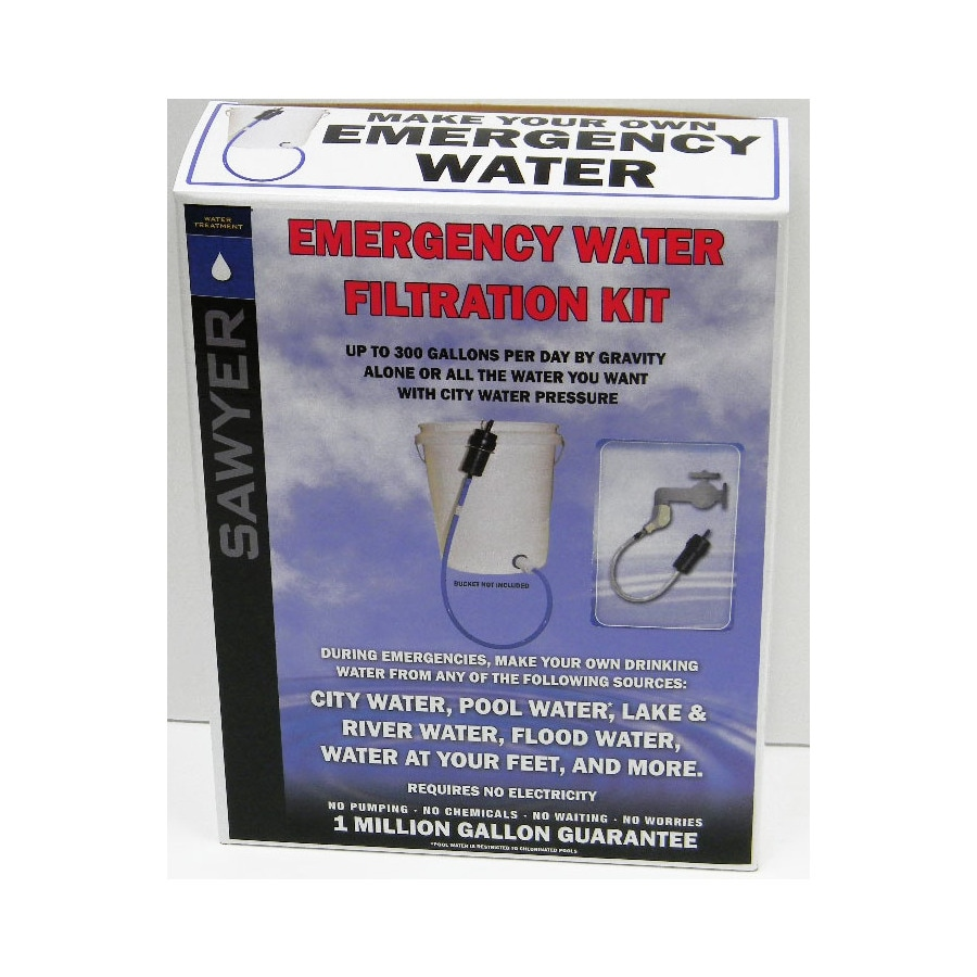 Sawyer Products Emergency Water Filtration Kit