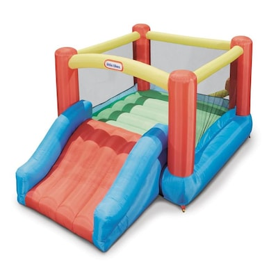 Little Tikes Little Tikes Jr Jump N Slide Bouncer 124 In X