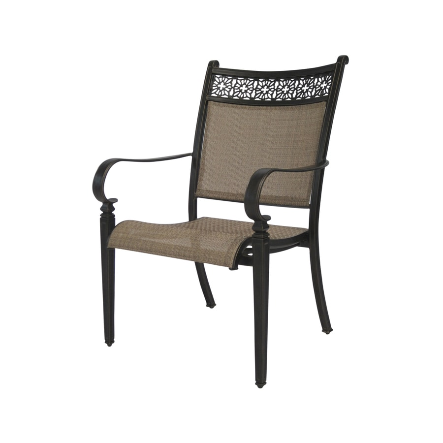 Garden Treasures Potters Glen Patio Dining Chair