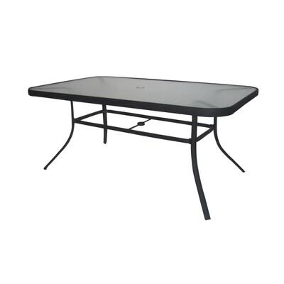 Burkston Rectangle Aluminum Patio Table