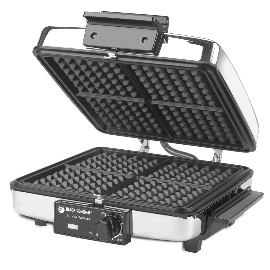 BLACK & DECKER Square Extra-Large Waffle Maker