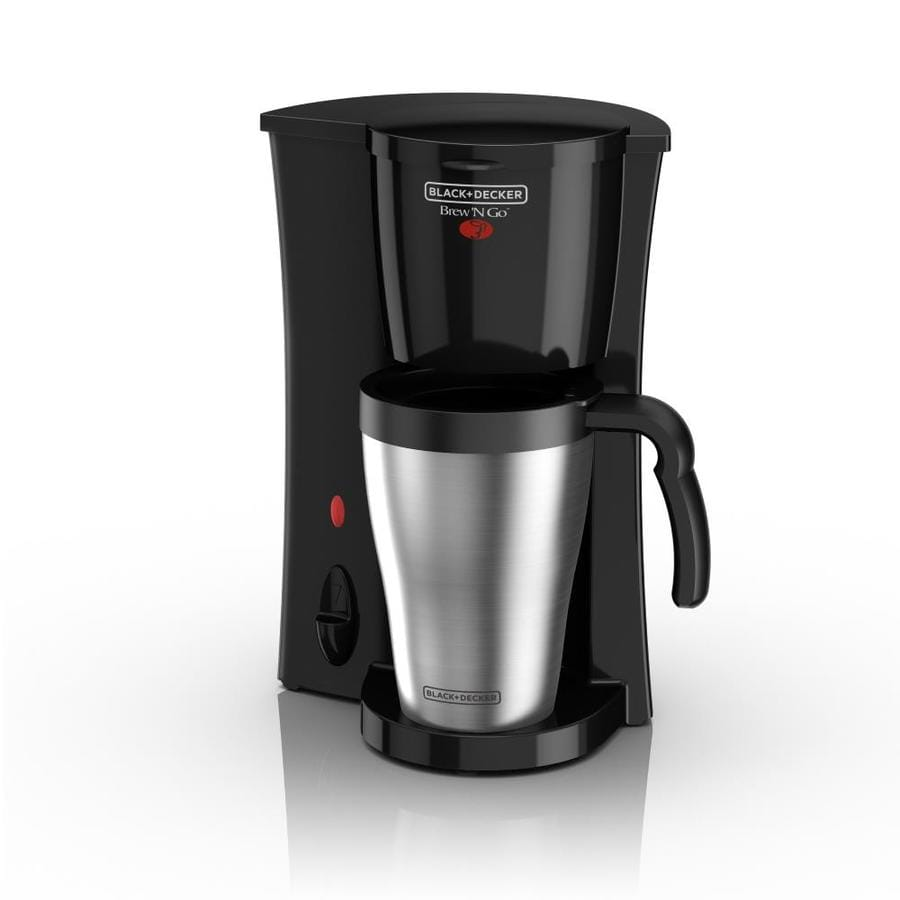 Shop BLACK & DECKER 2-Cup Black Coffee Maker at Lowes.com