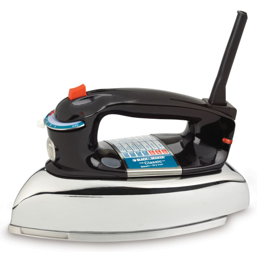 BLACK & DECKER Iron Auto Shut-Off