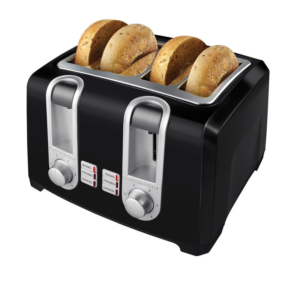 BLACK & DECKER 4-Slice Metal Toaster