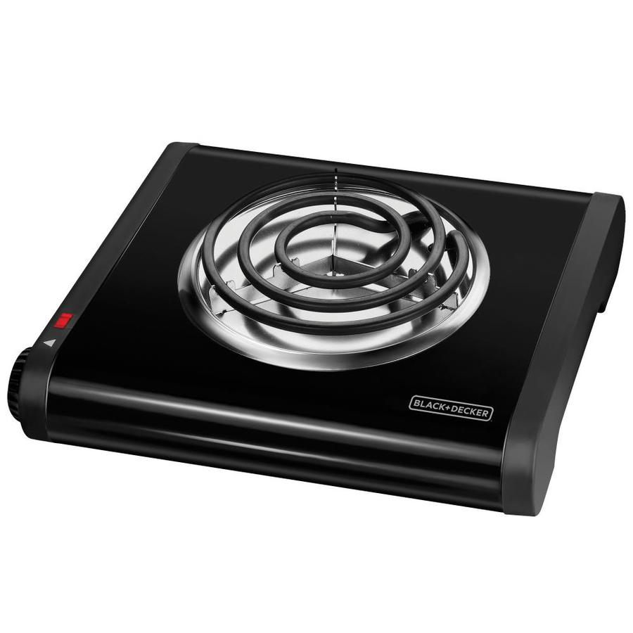 BLACK & DECKER 11.4-in Metal and Plastic Hot Plate
