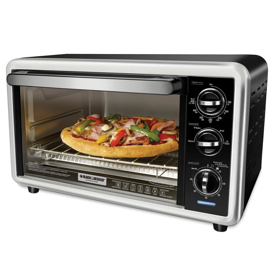 BLACK & DECKER 6-Slice Convection Toaster Oven