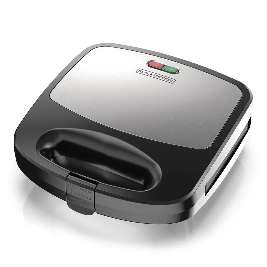 Black Decker Waffle Maker Grill Or Sandwich Maker In The Indoor Grills Department At Lowes Com