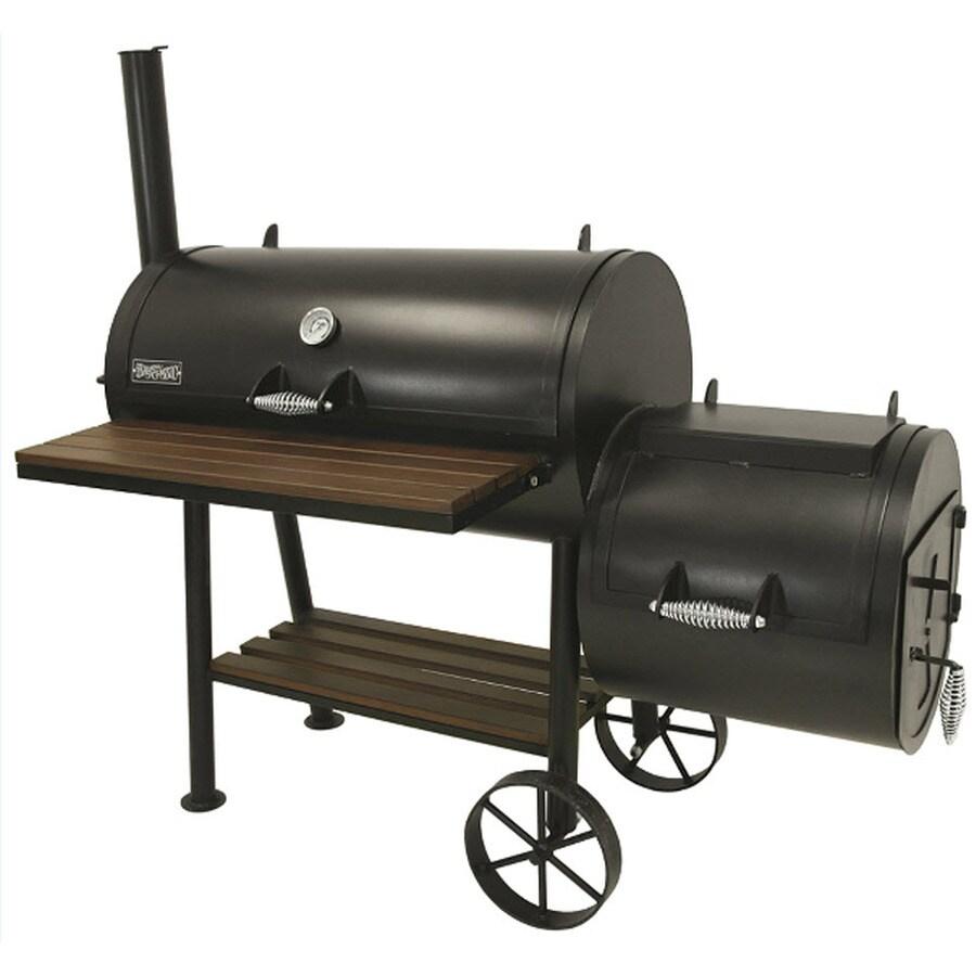 Bayou Classic 648 sq in Charcoal Horizontal Smoker