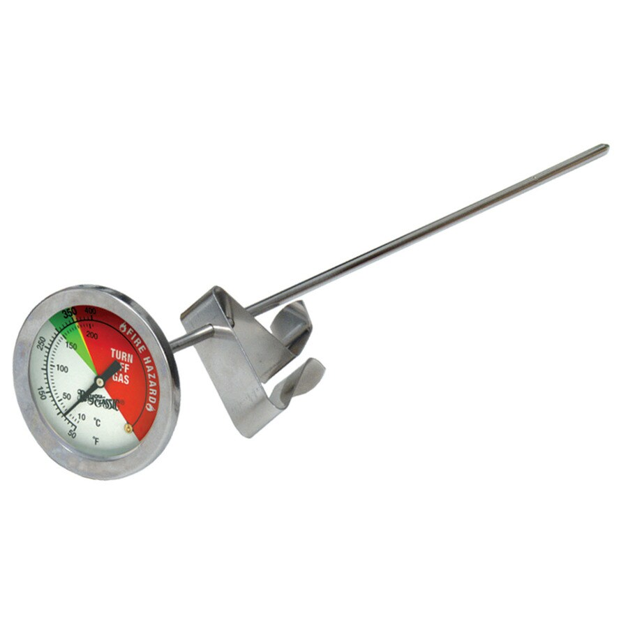Bayou Classic Stainless Steel Thermometer for Turkey Fryer