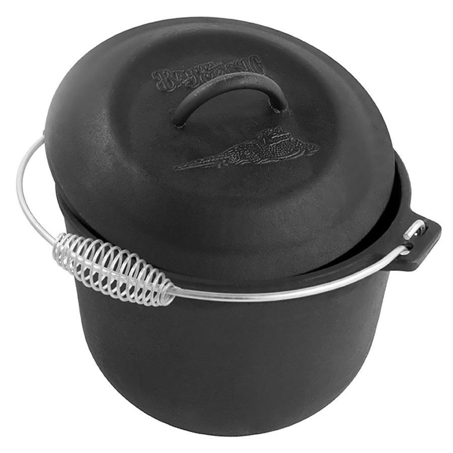 Bayou Classic 6-Quart Cast Iron Soup Pot Lid(s) Included