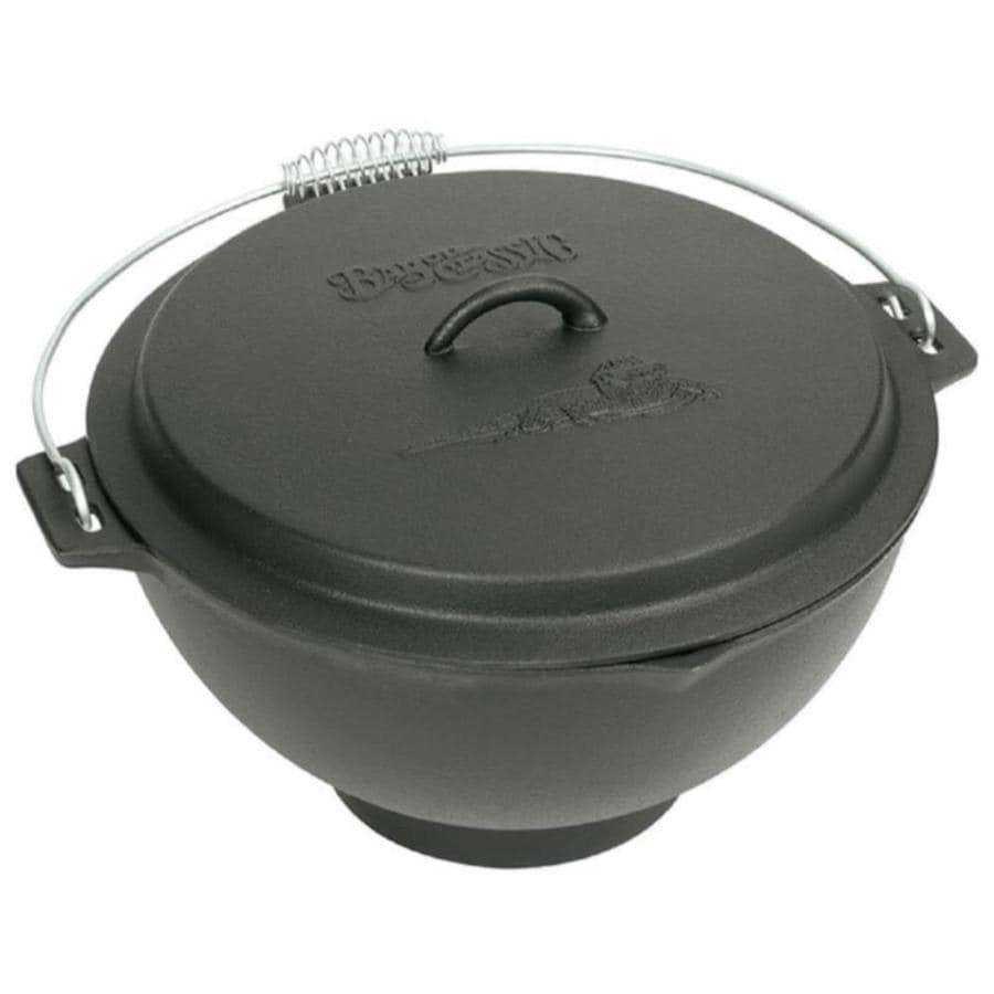 Bayou Classic 12 In Cast Iron Cooking Pan With Lid S Included In The Cooking Pans Skillets Department At Lowes Com