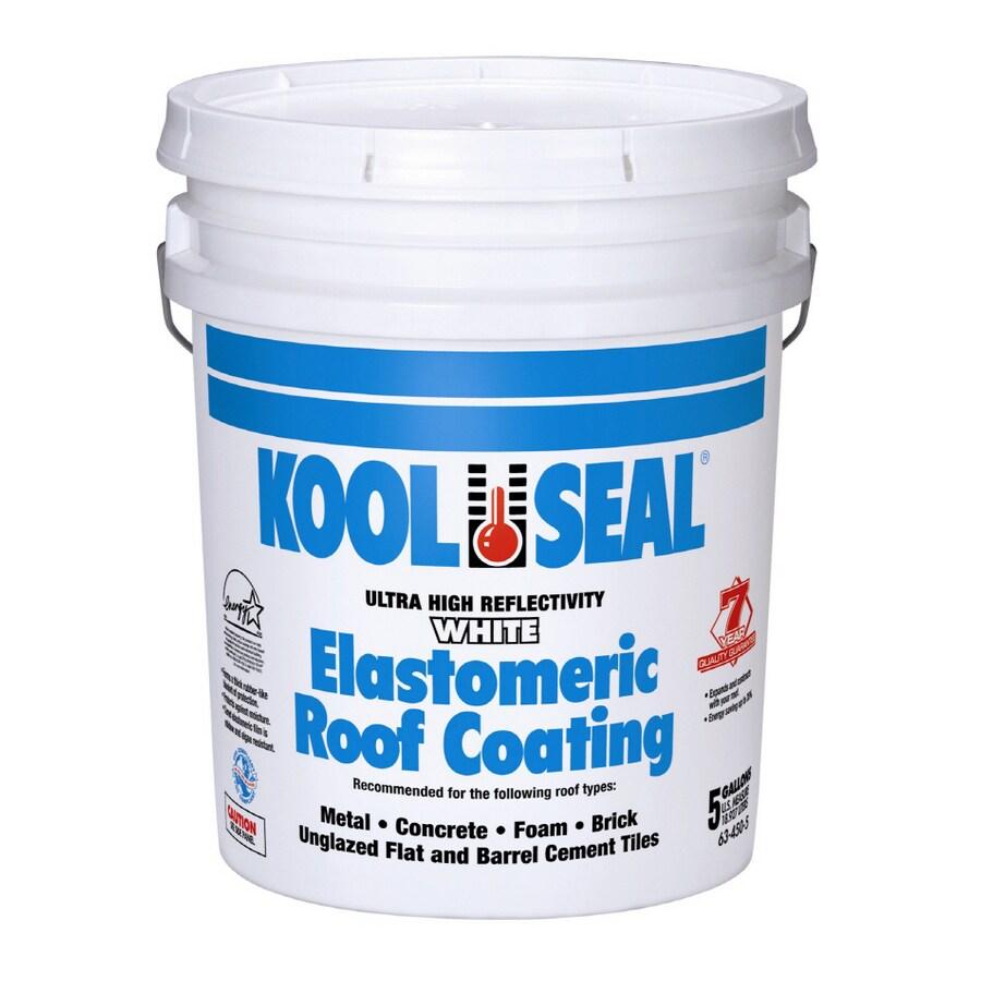 Superb Kool Seal 4 3/4 Gallons Non Fiber Roof Coating
