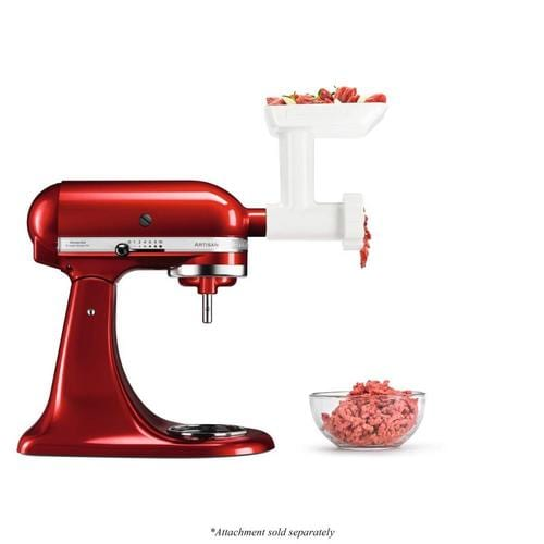 KitchenAid Stand Mixer Stainless Steel Food Grinder Attachment at Lowes.com