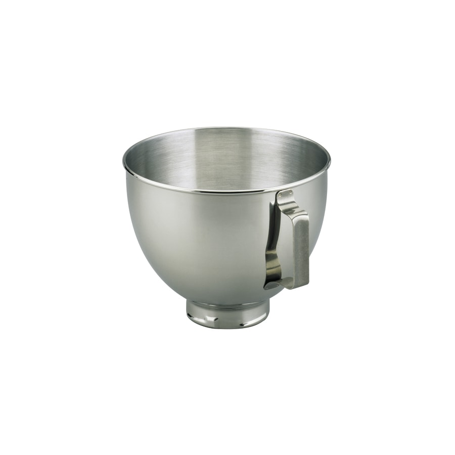 Shop KitchenAid 4.5-Quart Stainless Steel Mixing Bowl at Lowes.com