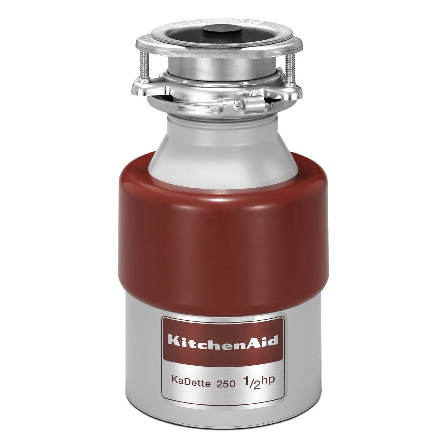 KitchenAid 1/2-HP Continuous Feed Noise Insulated Garbage Disposal