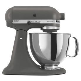 KitchenAid Artisan Series 5 Quart 10 Speed Imperial Grey Countertop Stand  Mixer