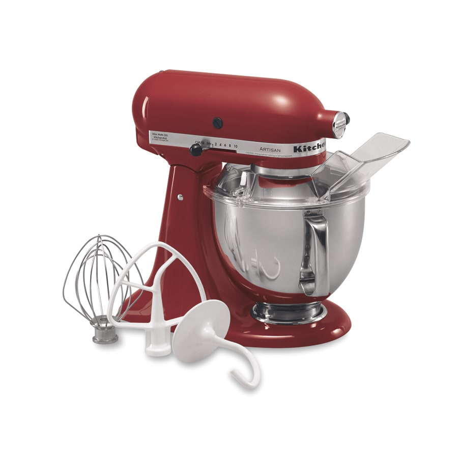 KitchenAid Artisan 5-Quart 10-Speed Red Stand Mixer