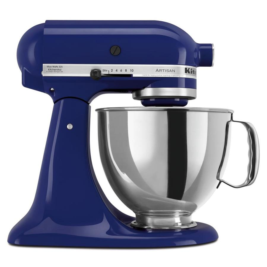 KitchenAid Artisan 5-Quart 10-Speed Cobalt Blue Countertop Stand Mixer