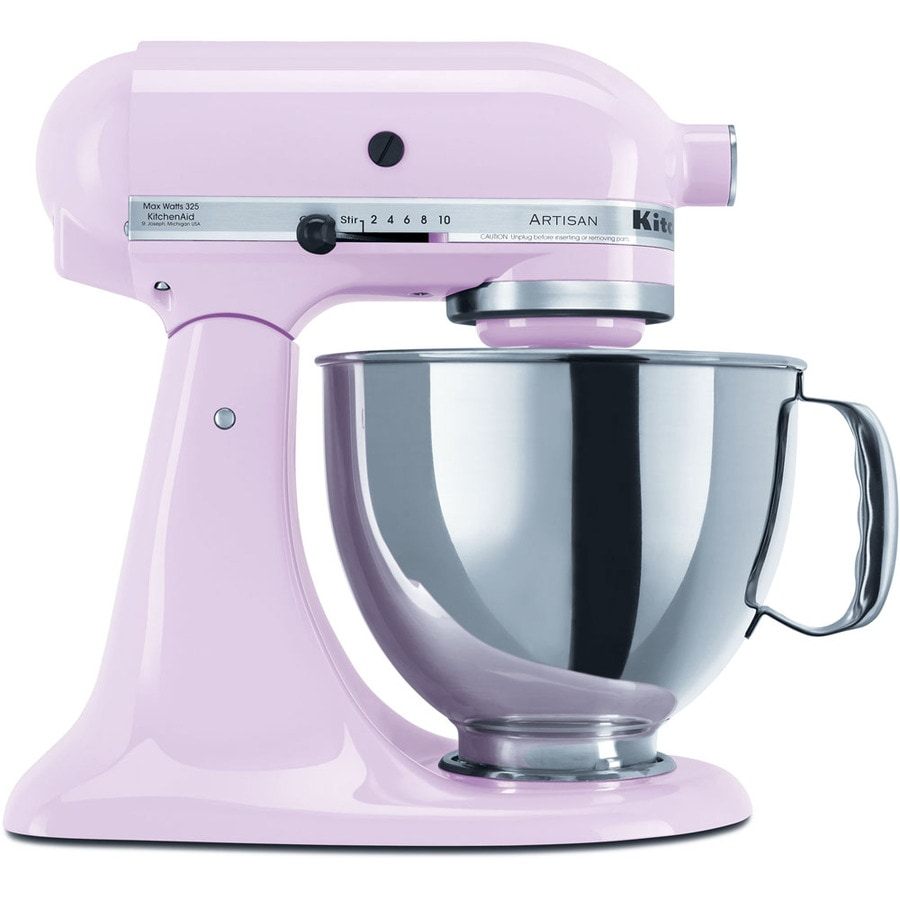 KitchenAid Artisan Series 5-Quart 10-Speed Pink Countertop Stand Mixer