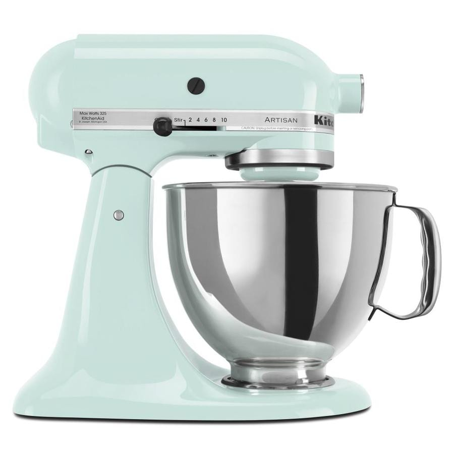 KitchenAid Artisan Series 5-Quart 10-Speed Ice Blue Countertop Stand Mixer