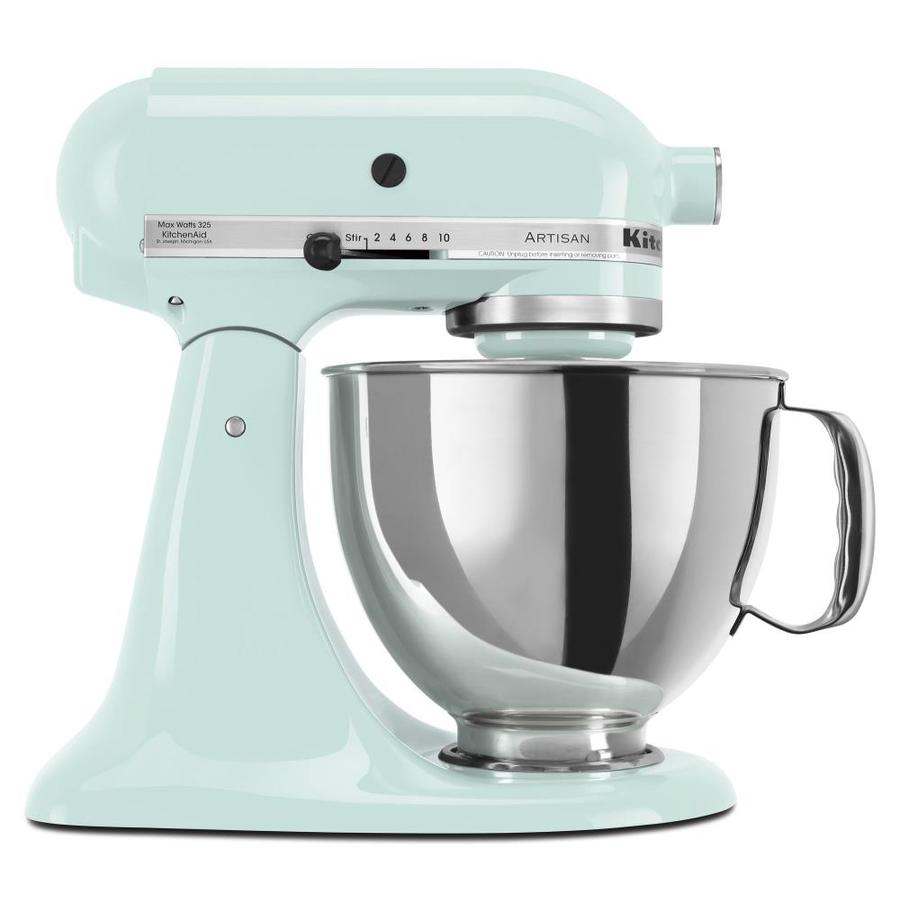 Lovely KitchenAid Artisan Series 5 Quart 10 Speed Ice Blue Countertop Stand Mixer