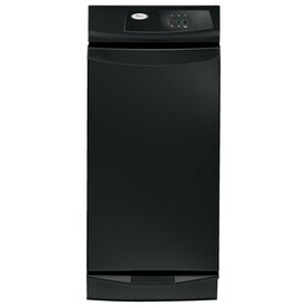 Whirlpool 15 In Black On Black Undercounter Trash Compactor
