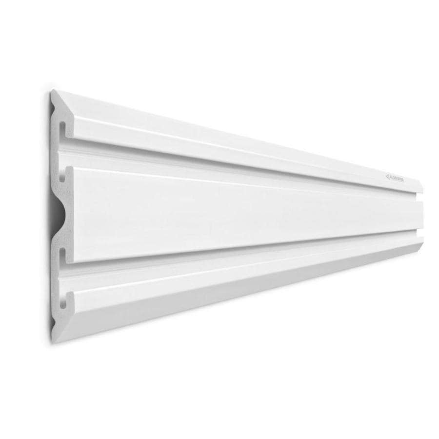 Gladiator Geartrack 1-Piece Light Gray Composite Storage Rail