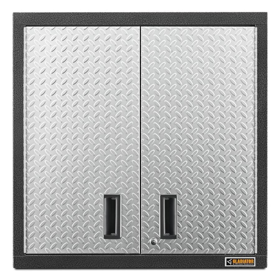 Gladiator Premier Series Wall GearBox 30-in W x 30-in H x 12-in D Steel Wall-mount Garage Cabinet
