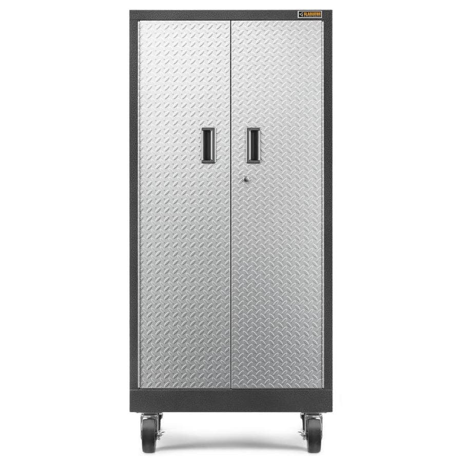 Shop gladiator premier series tall gearlocker 30 in w x 65 for Premier garage cabinets