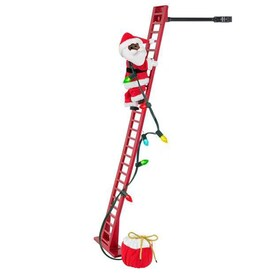 Santa Climbing Ladder Outdoor Decoration  from mobileimages.lowes.com