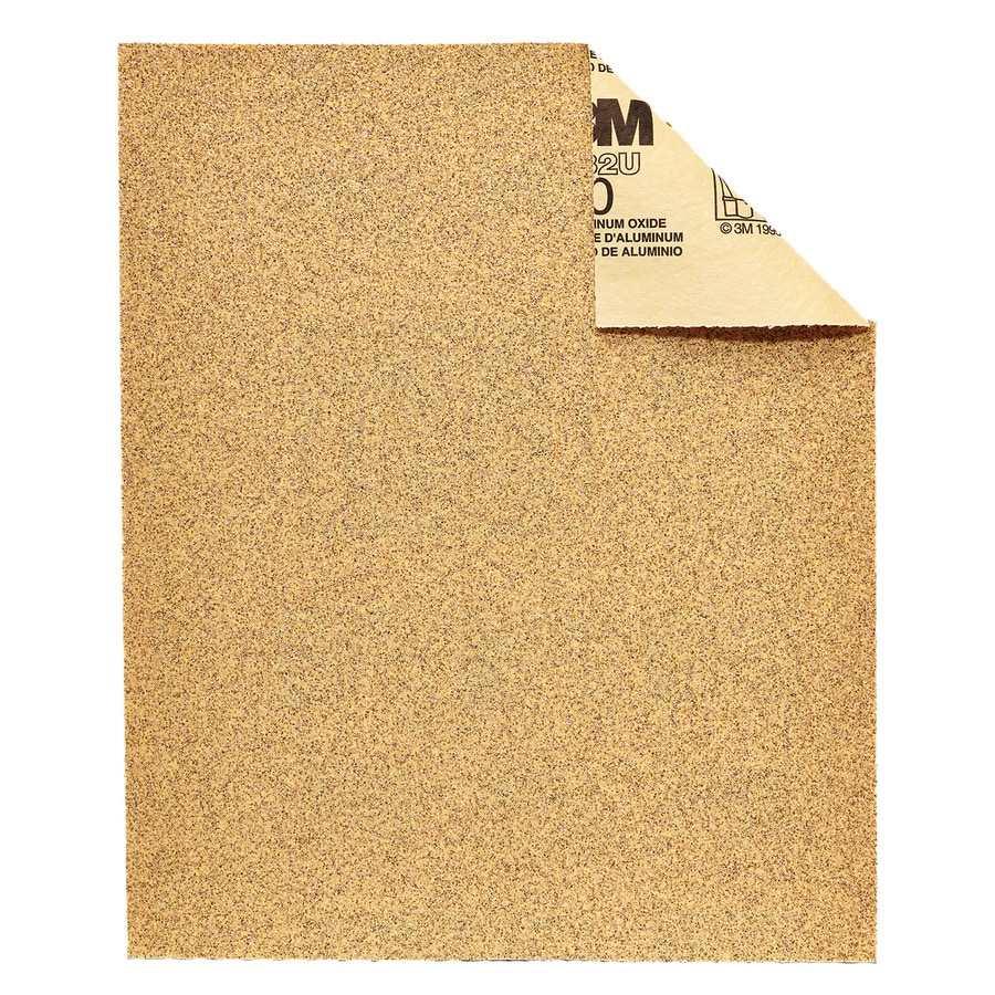 3M 15-Pack 9-in W x 11-in L 60-Grit Commercial Heavy Stripping Sandpaper